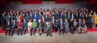 Fiesta de los Nominados de la 33 Edición de los Premios Goya en el Teatro Real de Madrid