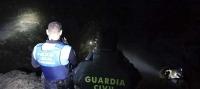 La Guardia Civil participa en el rescate de una persona en Fuerteventura