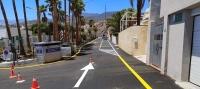 El Ayuntamiento renueva por completo la avenida de Las Palmeras, en Tabaiba Baja