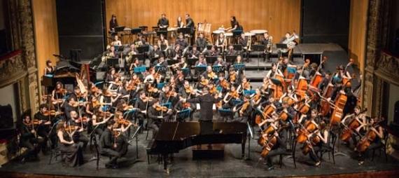 La Joven Orquesta de Canarias brilla en su concierto de estreno en el Teatro Guimerá