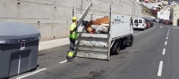 El Ayuntamiento de Santa Cruz retira 584 toneladas de enseres y electrodomésticos desde agosto