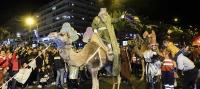 La magia de los Reyes Magos invadió el núcleo aronero de Los Cristianos