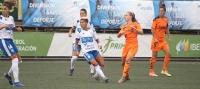 La UDG Tenerife Egatesa tira de pundonor y buen fútbol para adjudicarse el primer triunfo de la temporada