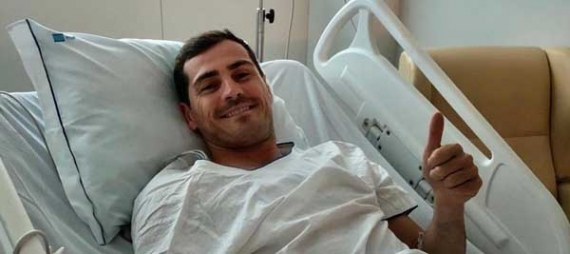 Iker Casillas permanece estable tras sufrir un infarto