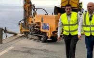 Obras Públicas comienza las obras de sustitución de las barreras de seguridad de la carretera GM-1