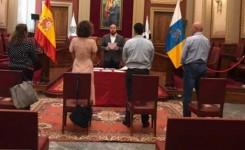 Santa Cruz reanuda la próxima semana la celebración de bodas en el Ayuntamiento