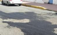 Vías y Obras teldense inicia el rebacheo de las calles del municipio que peor estado de conservación presentan