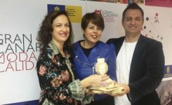 Susana Requena comparte con Gran Canaria Moda Cálida el premio nacional Prenamo a la Excelencia Empresarial 2018
