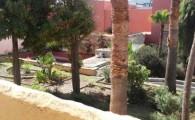 El Ayuntamiento teldense adecenta los jardines románticos de la Casa Condal