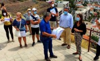 El Ayuntamiento de Santa Cruz explica a los vecinos de Barrio Nuevo las obras que acondicionarán los accesos