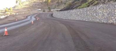 Obras Públicas inicia el asfaltado del tramo del mirador de La Fajana de la LP-2
