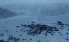 Cortes de carreteras hacia el Teide por presencia de hielo