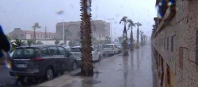 La AEMET activa la alerta por lluvia y viento en las islas occidentales