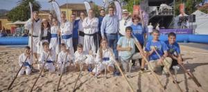 El Torneo de Lucha del Garrote se sumó al sábado deportivo en La Laguna