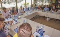 El Cabildo presenta a los empresarios del sur los avances de su plan de trabajo en carreteras e infraestructuras
