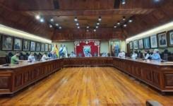 Puerto de la Cruz cede el testigo de la presidencia de la Comunorte al municipio de Los Realejos