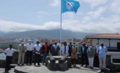 Puerto de la Cruz celebra el izado de la bandera Safe Tourism que la acredita como destino seguro