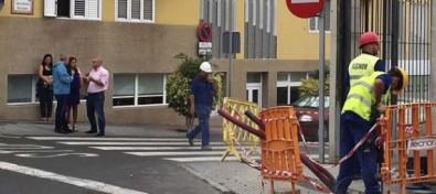 El Ayuntamiento teldense mejora la iluminación de las calles Pepe Dámaso y Secundino Delgado