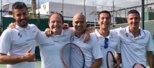 El equipo Absoluto Masculino del RCNT se proclama campeón de la Copa Federación
