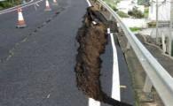 El Cabildo declara de emergencia la reposición de un muro y un tramo de calzada de la carretera de Guía a Moya