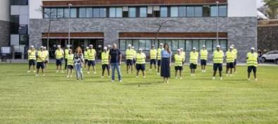 Adeje forma un equipo de agentes de sensibilización ciudadana en playas para prevenir contagios por COVID19