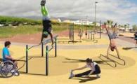 Alcalá y Playa San Juan contarán con los primeros parques de calistenia