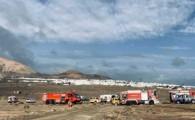 El Aeropuerto César Manrique-Lanzarote realiza un simulacro general de accidente aéreo