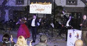 La música y la iluminación navideña dieron la bienvenida a la Navidad en Granadilla de Abona