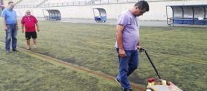 El Gobierno de Telde pone a punto los campos de fútbol 8 del Pedro Miranda