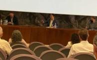 Martín explica a los empresarios del CEST las acciones en marcha para la temporada de invierno