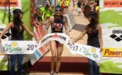 Faris Al-Sultan y Kristin Mller, ganadores del Ironman Lanzarote 2013