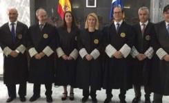 Tres juristas del cuarto turno juran como magistrados en el TSJC