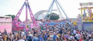 Más de 1400 menores participan en la inauguración de la Feria del Carnaval