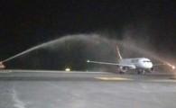 El Aeropuerto de Lanzarote obtiene el reconocimiento de anna.aero por el mejor arco inaugural de una nueva ruta