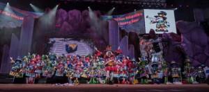 Rebobinados, ganadores en Interpretación del concurso de Murgas Infantiles