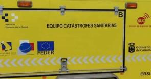 El remolque de catástrofes del SUC en Lanzarote tendrá su base en el Hospital Doctor José Molina Orosa