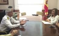 Nieves Lady Barreto y Carmen Brito negocian con Defensa un acuerdo para ubicar en el acuartelamiento de 'El Fuerte' el Centro Coordinador de Seguridad y Emergencias