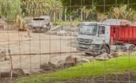 La obras del Parque La Granja avanzan a buen ritmo y obligan al cierre de dos carriles a partir de la próxima semana