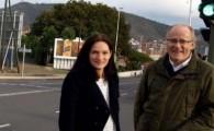 El Ayuntamiento instala señales luminosas en pasos de peatones junto a García Escámez