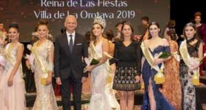 Yaritza González Farrais, Reina de las Fiestas Patronales de La Orotava