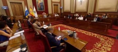 El pleno del Ayuntamiento de Santa Cruz de Tenerife da cuenta de la expulsión de Evelyn Alonso de Ciudadanos