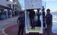 El Instituto Marítimo Pesquero de Arrecife crea su propia campana húmeda para las prácticas de buceo