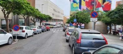 El Ayuntamiento capitalino mejora la señalización para facilitar el acceso a diversos colegios