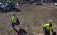 El Ayuntamiento de Santa Cruz de Tenerife inicia una acción de limpieza integral y urgente en la Curva del Arco Iris
