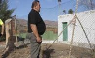 El alcalde visita la deficitaria instalación de la Depuradora de Antigua