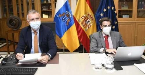 Torres defiende ante la UE que la estrategia para las RUP se renueve y adapte al impacto de la crisis por Covid19