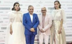 Juan Carlos Armas presenta en Madrid Bridal Week la colección XXX con la que celebra 30 años en la moda