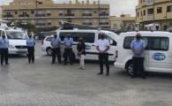 """Comienza la campaña """"Viajar Seguros Puerta a Puerta"""" en Guía de Isora"""