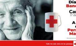"""Cruz Roja dedica el """"Día de la Banderita"""" servicios socio-sanitarios para  las personas mayores."""