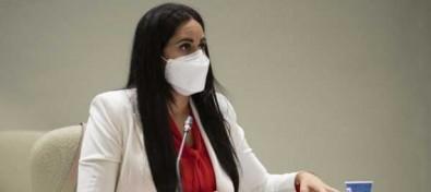 Vidina Espino insiste en reclamar a Educación que elimine los barracones de los colegios públicos canarios